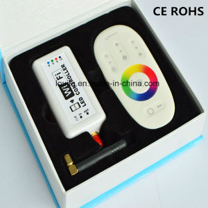 RF Control 2.4G WiFi Full Touch RGB LED Remote Controller pictures & photos