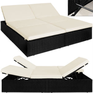 Patio Swimming Pool Outdoor Garden Furniture Rattan Wicker Lounge Lying Bed Deck Chair pictures & photos