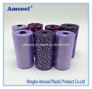 High Quality HDPE Plastic Pet Waste Bag Biodegradable Dog Poop Roll Bag pictures & photos