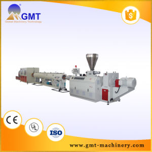 PE PVC Tube Pipe Plastic Production Extruder Making machinery Line pictures & photos