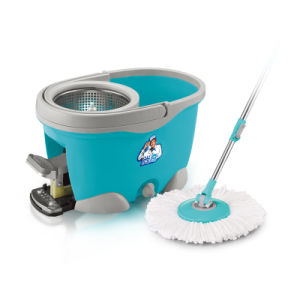 4 Drive 360 Magic Mop with Cleaning Bottle and Pedal pictures & photos