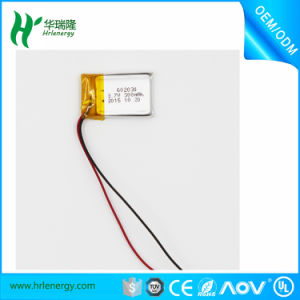 603040 Li Polymer Battery 3.7V 650mAh for Electric Wrist Watch pictures & photos