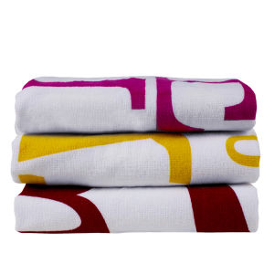 100% Cotton Velour Reactive Printing Wholesale Beach Towel pictures & photos