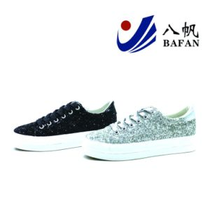 Sequin Fashion Casual Shoes for Women Bf1701618 pictures & photos
