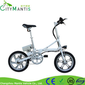 Mini Foldable Electric Bike 16inch Bicycle pictures & photos