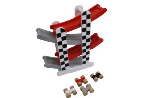 Wooden F1 Racing Track Car Set Toys for Kids and Children pictures & photos