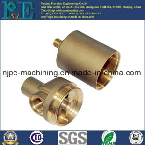 Custom CNC Turning Precision Brass Parts pictures & photos