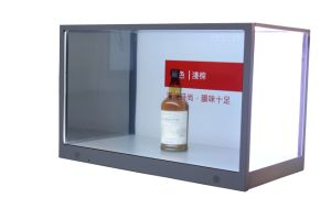 32-Inch Transparent LCD Display Box, Digital Showcase for Shopping Mall/Luxury Exhibition pictures & photos