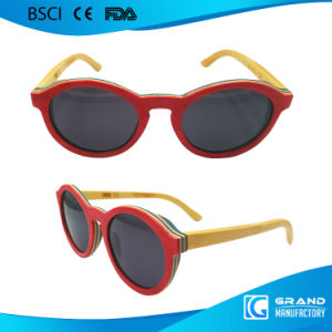 Fashion Classical Vintage Free Custom Logo Skateboard Sunglasses pictures & photos