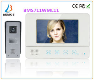 Memory 7 Inches Intercom Home Security Doorbell Video Doorphone Interphone with Camera pictures & photos