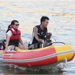 Hypalon / PVC Fishing Inflatable Boat (430cm)