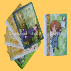 Children Custom Game Cards Printing with Anime pictures & photos