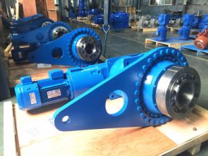Q3kd19 Series Right Angle Shaft Type Planetary Gearbox with Torque Arm Mount
