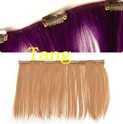 Remy Human Hair Easy Fix Clip on Hair Extensions. pictures & photos