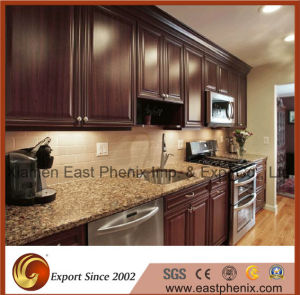 Natural Beige Polished Granite Kitchen Countertop Worktops pictures & photos
