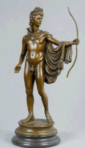 Bronze Sculpture Figure Statue (HYF-1071)