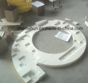 Cyclone Ceramic Lining Plate From Industry Ceramics Manufacturer pictures & photos