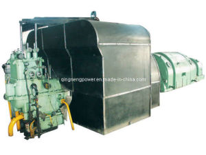 Double Extraction Condensing Steam Turbine (CC15-3.43/1.57/0.687)