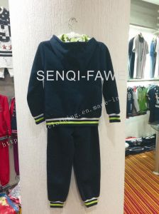 Fleece Boy Hoodies+Long Pants in Kids Clothes Sq-6654 pictures & photos