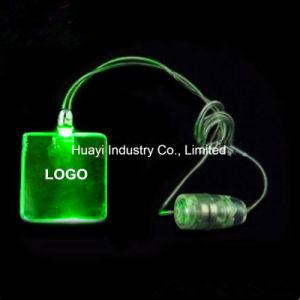 Personalized Star Shape Pendant LED Glow Necklaces pictures & photos