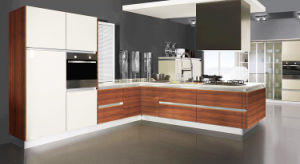 L Shape Acrylic Kitchen Cabinets for Project