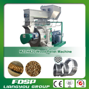 China Top Quality Ring Die Wood Pelletizing Equipment for Sale pictures & photos
