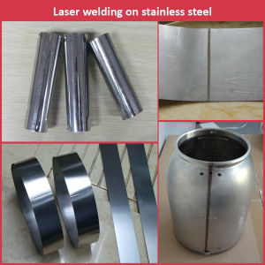 Aluminum/ Stainless Steel Shower Head Show Panel Welding Machine Automatic YAG Laser Welder pictures & photos
