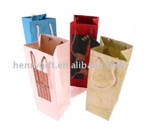 Wine Paper Bag pictures & photos