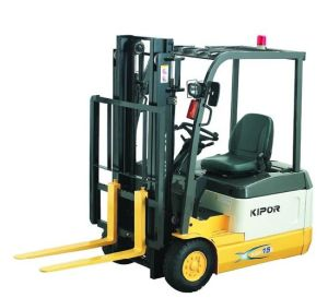 Three Wheel Battery Forklift (KEF15E) pictures & photos