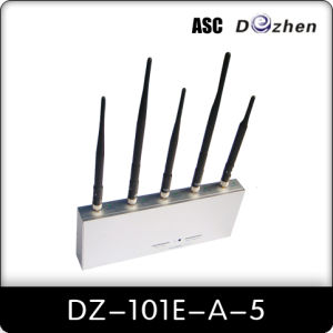 Adjustable Mobile Phone Jammer (DZ101E-A-5)