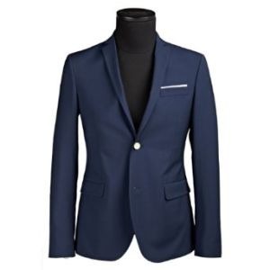 100% Wool Navy Business Men Suit pictures & photos