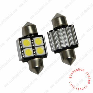 Festoon C5w 4SMD 5050 Erro Free Canbus LED with Heat Sink Interior Light