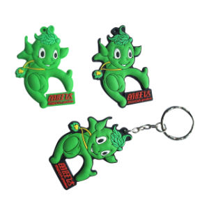 2015 Popular Promotion Soft PVC Keychain pictures & photos