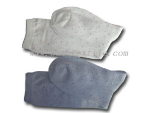 Lady Plain Cotton Socks pictures & photos