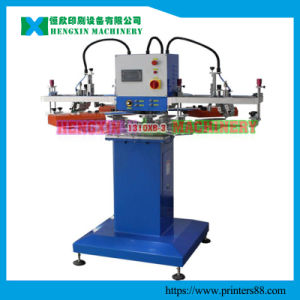 3 Color Silk Screen Printing Machine for Non Woven Bags pictures & photos