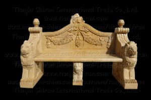 Stone Carving Bench, Outdoor Garden Furniture (6357) pictures & photos