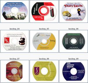 Shape CD DVD Replication 50MB~600MB Max