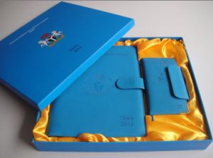 Leather /PU Notebook/ Hardcover Notebook pictures & photos