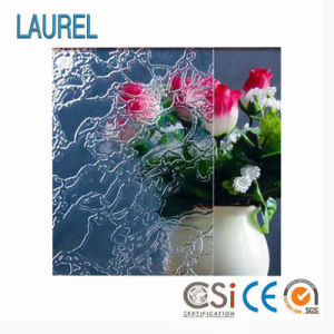 3mm-8mm Clear Patterned Glass (with CE, ISO9001)