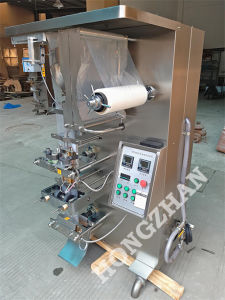 Cream Glue Water Automatic Liquid Packing Machine, Pouch Film Bag Packaging Machinery pictures & photos