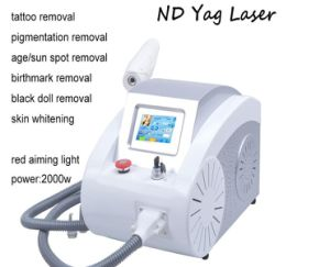 Laser Tattoo Removal Machine Q Switch ND YAG Laser Equipment Tattoo Removal Beauty Equipment Tattoo Removal with 532nm/1064nm/1320nm pictures & photos