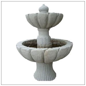Natural Stone Carving Fountain / Garden Fountain for Decoration pictures & photos