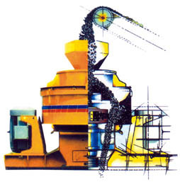 2011 Vertical Shaft Crusher