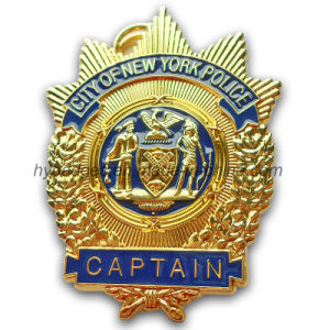 3D Plice Badge New York Police Badge (GZHY-BADGE-012) pictures & photos