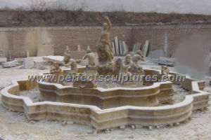 Outdoor Marble Pool Fountain for Garden Stone (SY-F056) pictures & photos