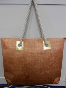 Plain Pattern Beach Bag pictures & photos