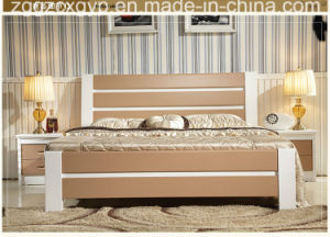 2016 Antique Carved Wood Bed Foot Board/High Quality Wood Bed/Hot Selling Wood Bed Cx-Wb03 pictures & photos