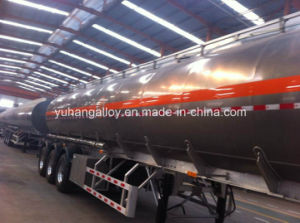 Carbon Steel Truck Trailer Light Sweet Crude/Tank Semi Trailer