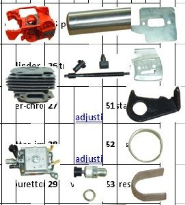 Gasoline Chain Saw Part for Husqvarna 365 pictures & photos