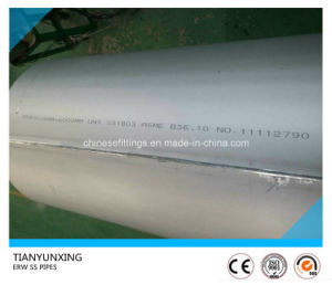 Asme B36.10 Dn800 ERW Welded Stainless Steel Pipes pictures & photos